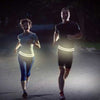 Reflective Flipbelt no bounce running belt