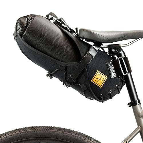 Restrap Saddle Bag with 8L Drybag - Black / Black