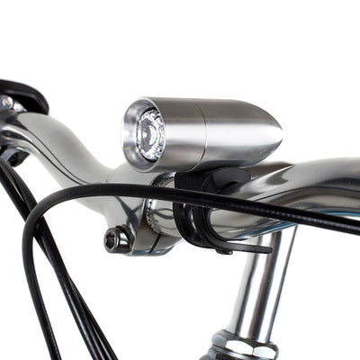 Rindow Silver Bullet Front Bike Light Handlebar