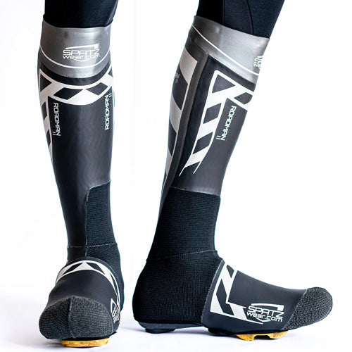 SPATZ Wear Roadman 2 Reflective Cycling Overshoes