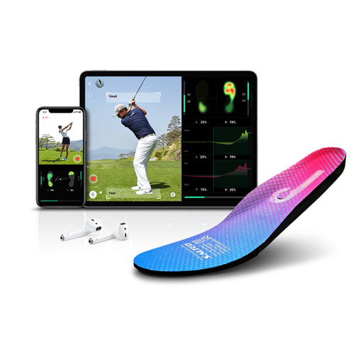 Salted Smart Pressure Golf Insoles