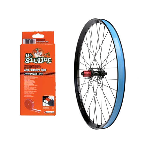 Dr Sludge Bike Wheel Rim Liner Tape - 700c Blue