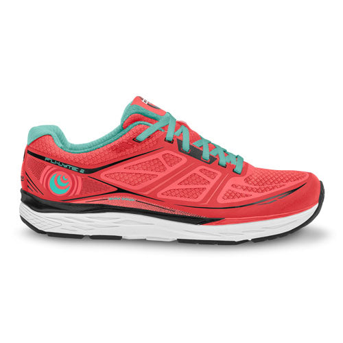 Topo Fli-lyte 2 - womens running shoes - coral / aqua