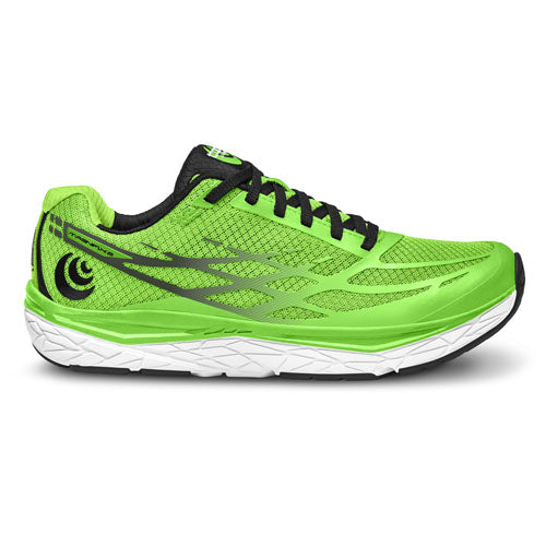 Topo Magnifly 2 - mens running shoes - green / black