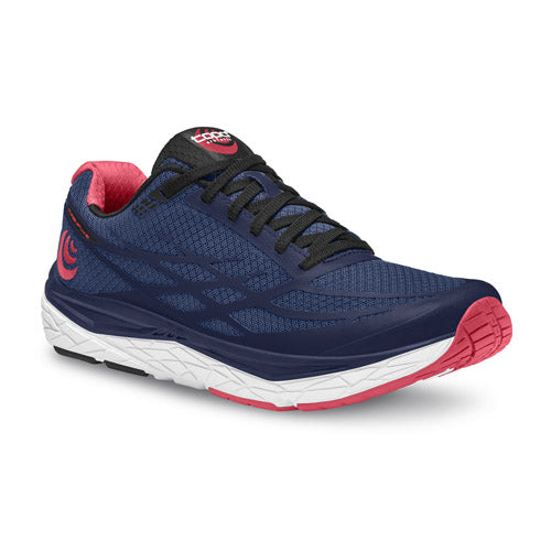 Topo Magnifly 2 - womens running shoes - navy / pink