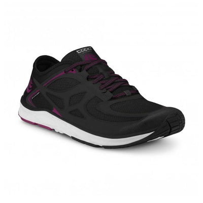Topo ST 2 - womens running shoes - black / raspberry