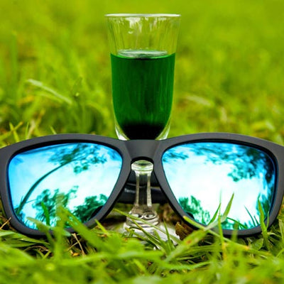 Goodr Sunglasses - Vincent's Absinthe Night Terrors