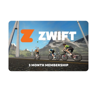 Zwift 3 Month Membership Gift Card