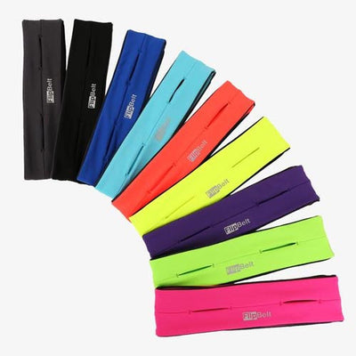 FlipBelt Running Band in Grey Black Red Yellow and more colours