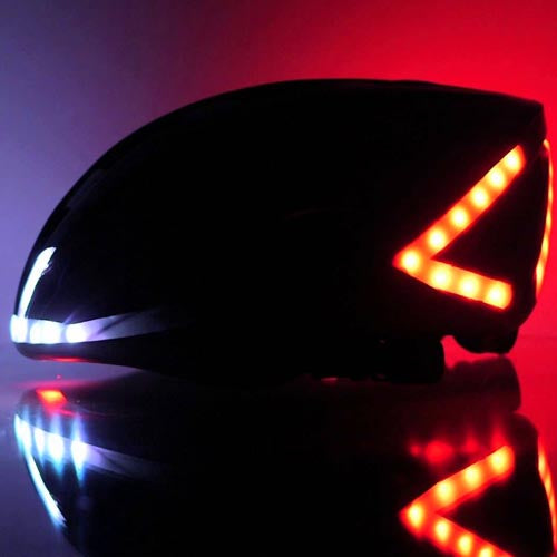 LUMOS Bike Helmet with smart lighting system