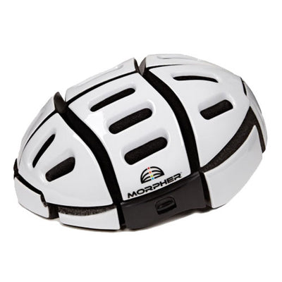 Morpher Foldable Cycling Helmet in White
