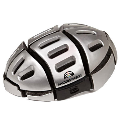 Morpher Foldable Cycling Helmet in Silver