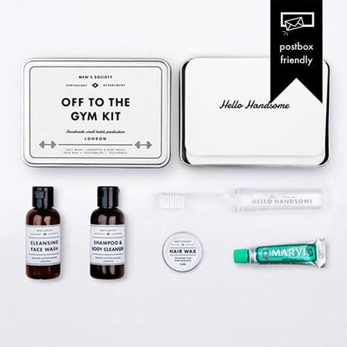 Mens Society Off To The Gym Gift Kit