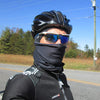 Skibonez Cycling Mask lifts the mask off your face