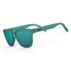 Goodr Sunglasses - Nessy's Midnight Orgy - Teal Frame and Lens