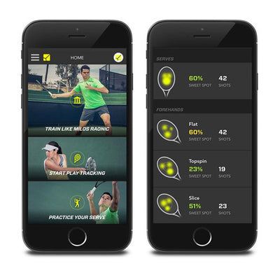 Tennis Swing Data Tracked by Zepp