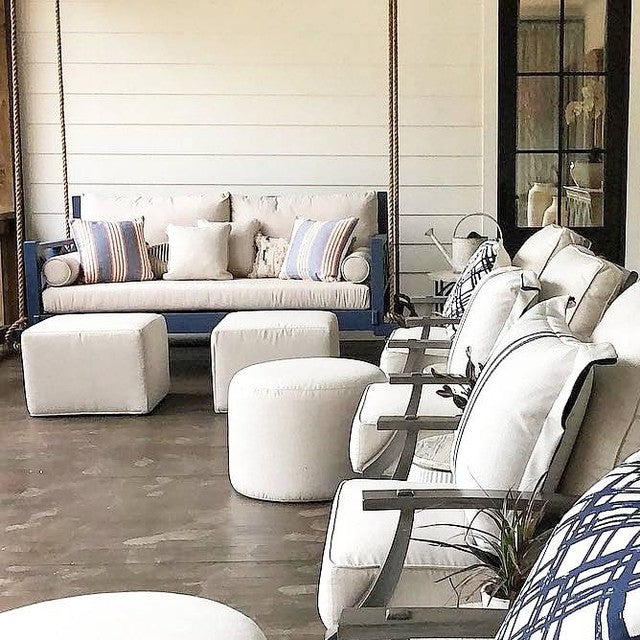 Our Customers Are Some Of The Most Talented And Well-Known Interior Designers That You Can Find! #fouroakbedswings #interiordesign #bedswing #southernliving