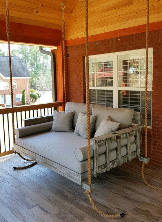 The Draw of a Porch Hanging Swing