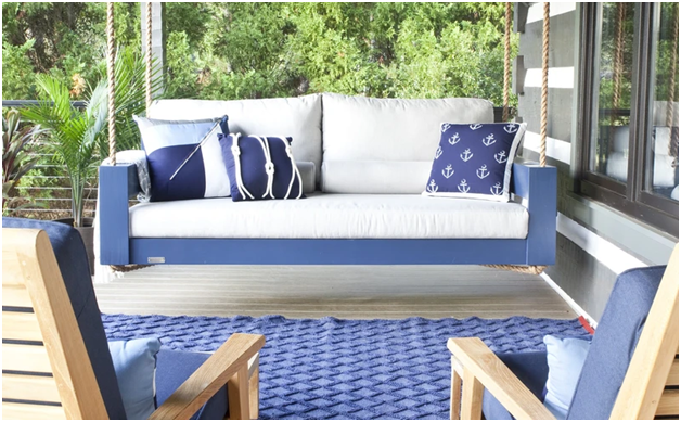 Rethink Comfort With Porch Swing Beds