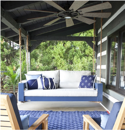 Can An Outdoor Hanging Bed Help You Sleep