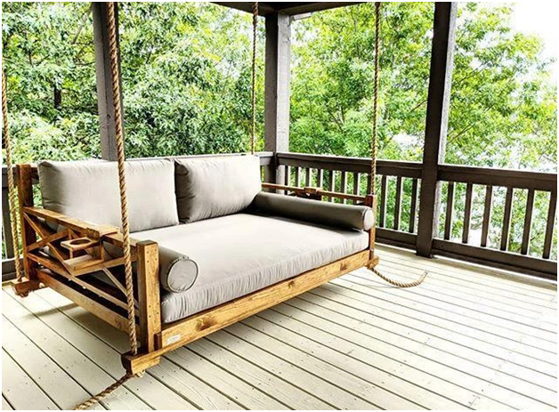 Complete Your Home With a Hanging Daybed