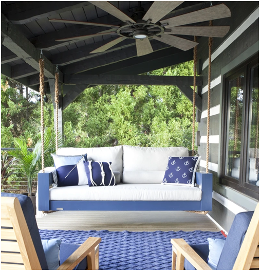 Four Great Reasons for a Four Oak Daybed Porch Swing