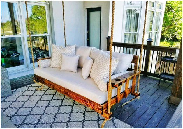 How a Quality Porch Bed Swing Provides Style and Comfort