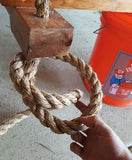 knot to tie for rope swing