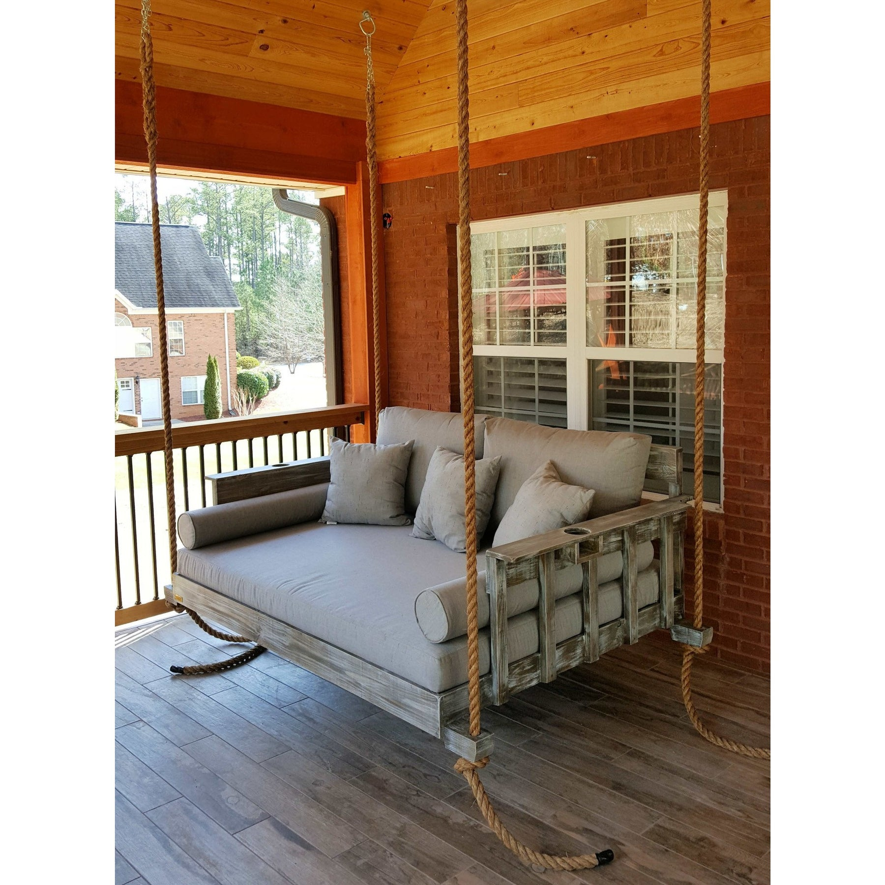 All American Bed Swing Hanging Porch Bed By Four Oak Bed