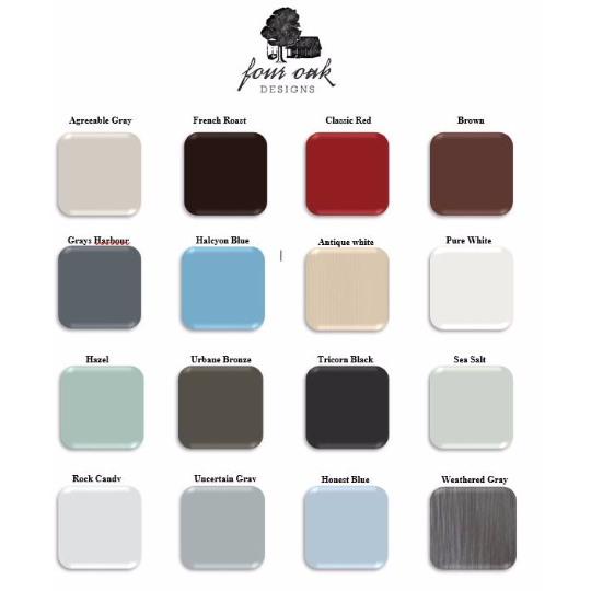 Porch Bed Swing Paint Colors