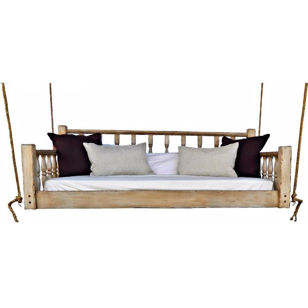 The madison bed swing hanging daybed free shipping for Hanging bed construction
