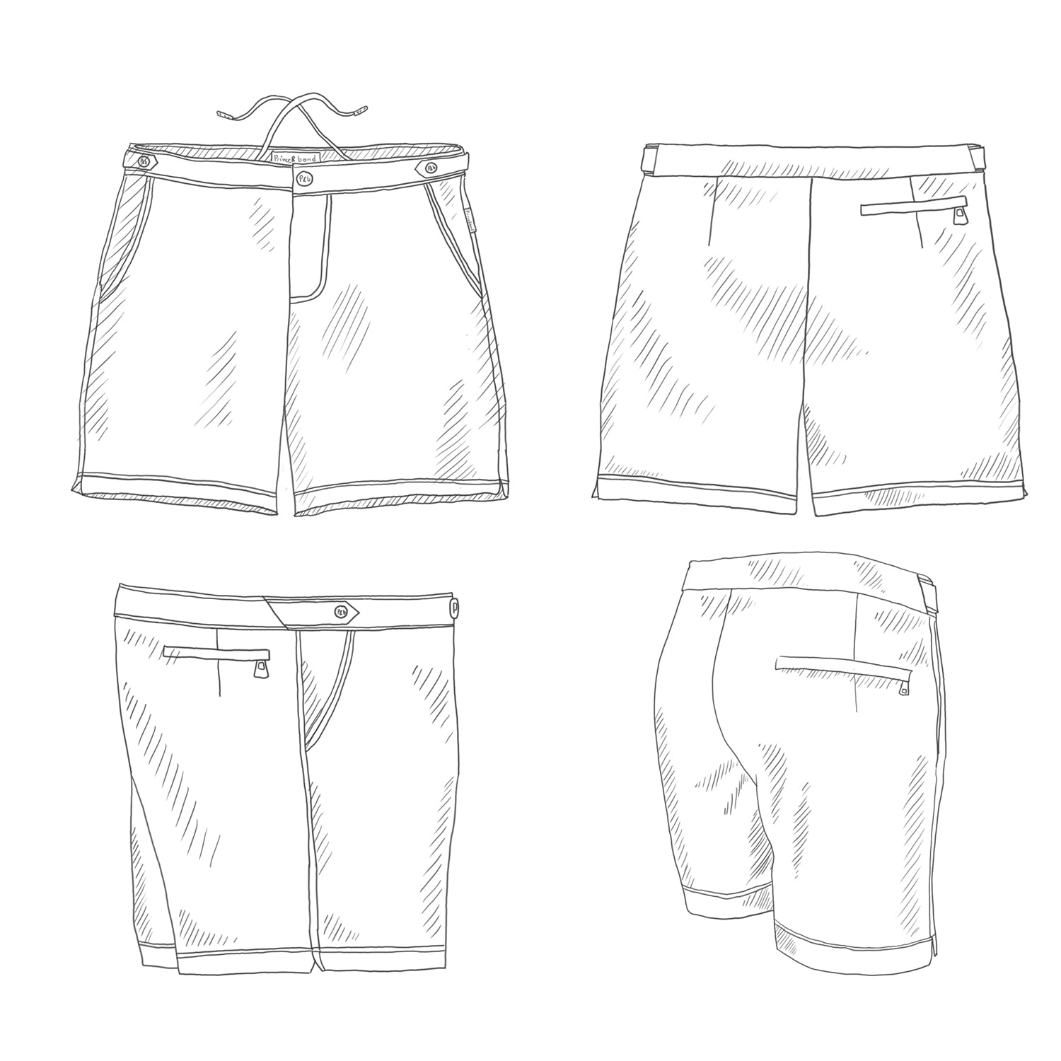 Shorts - Fit,  Fabric and Hardware