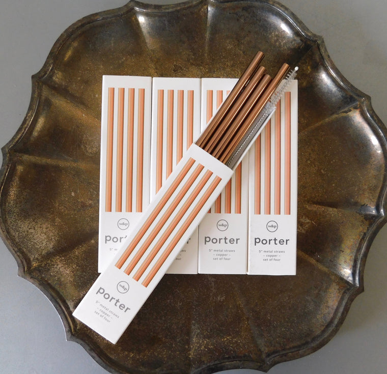 Metal Copper Straws