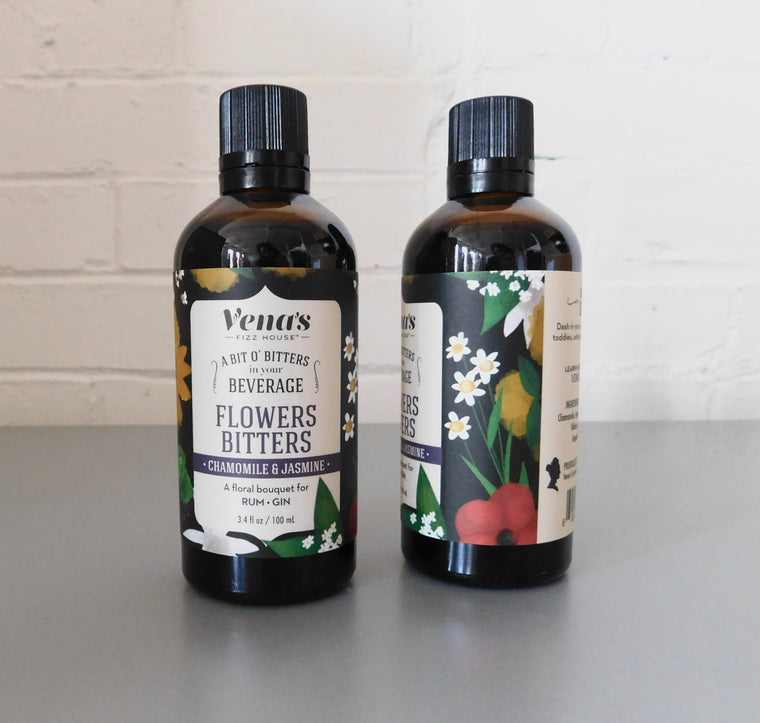 Vena's Flower Bitters, 12 bottles per case