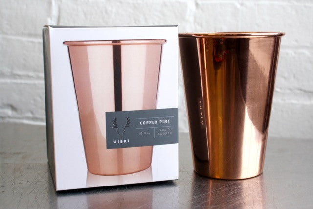 Viski Copper Pint
