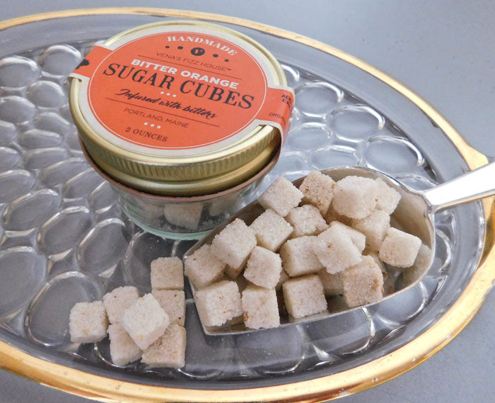 Bitter Orange Sugar Cubes