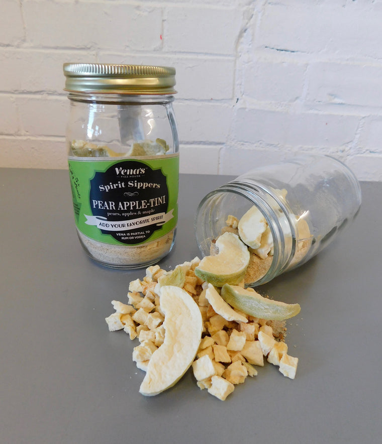 Pear Apple-tini Infusion Jar