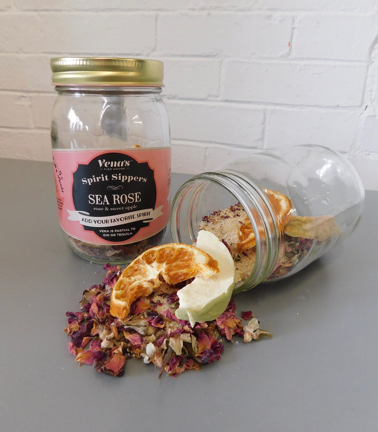 Sea Rose Gin Infusion Jar