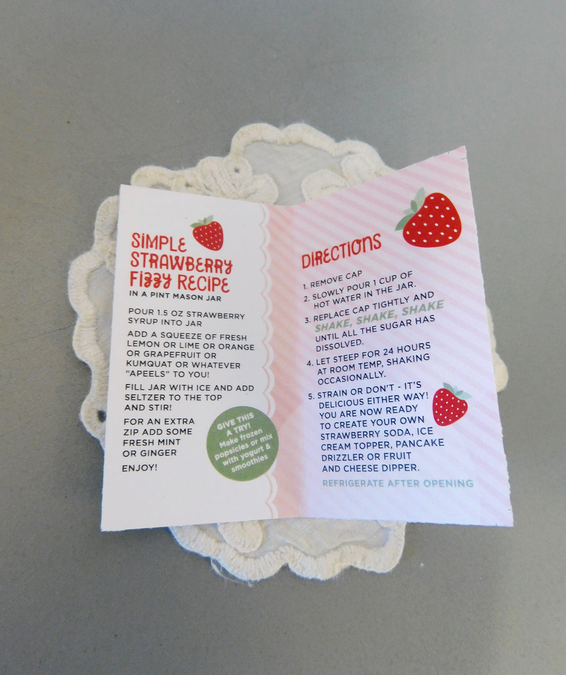 Vena's DIY Syrup Shakers