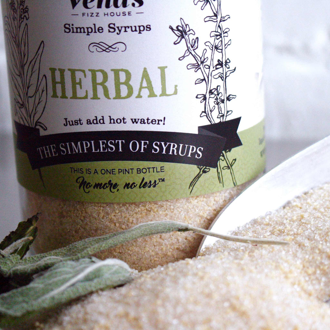 Vena's Herbal Simple Syrup