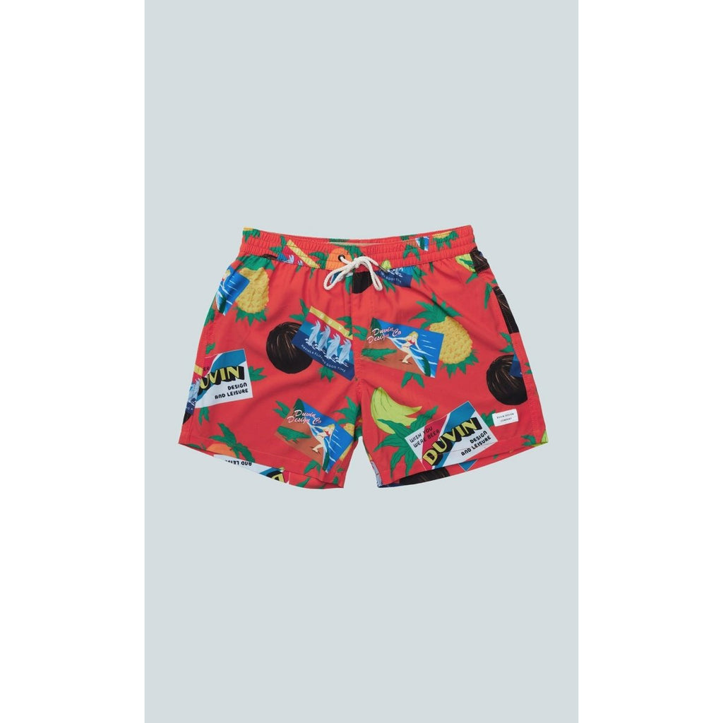 DUVIN // GREETINGS FROM FL SWIM SHORT - Las Olas