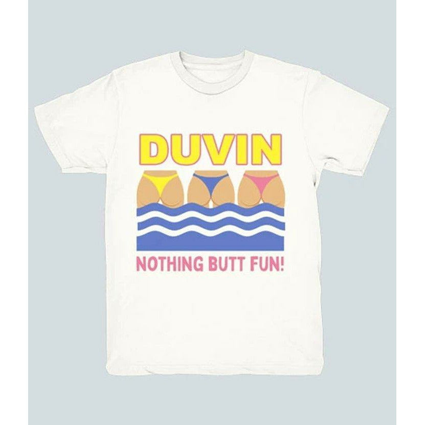 DUVIN // NOTHING BUTT // WHITE - Las Olas