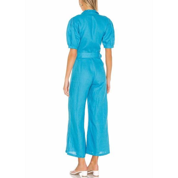 FAITHFULL THE BRAND // FREDERIKKE BOILERSUIT // BLUE TOPAZ - Las Olas