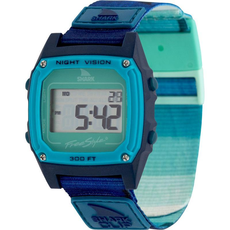 FREESTYLE WATCHES // SHARK CLASSIC CLIP // OMBRE FIN TEAL - Las Olas