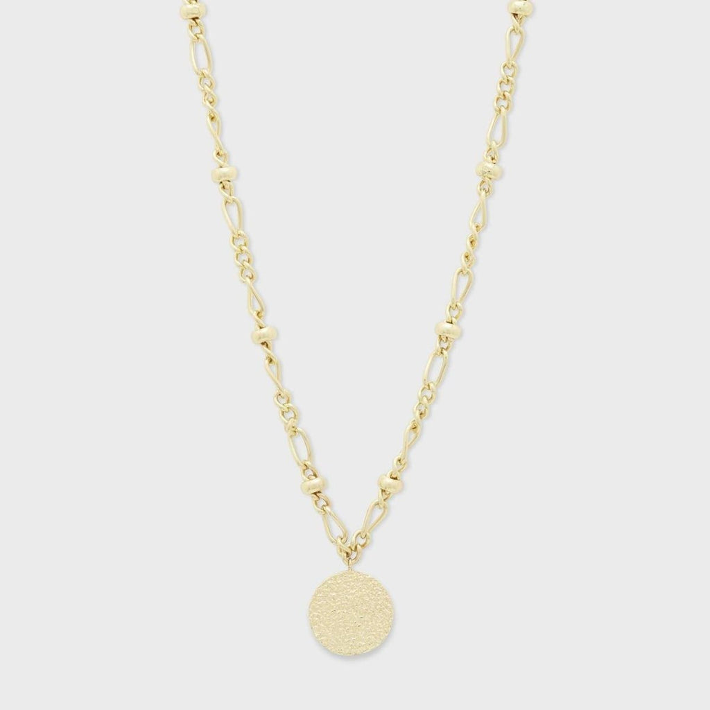 GORJANA JEWELRY // BANKS COIN NECKLACE // GOLD - Las Olas