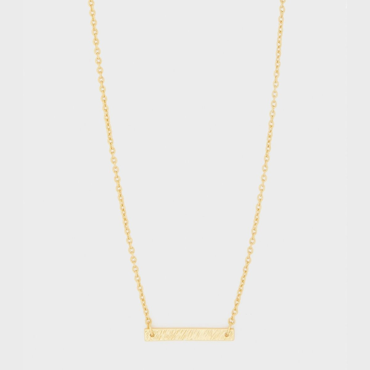 GORJANA JEWELRY // KNOX NECKLACE // GOLD - Las Olas