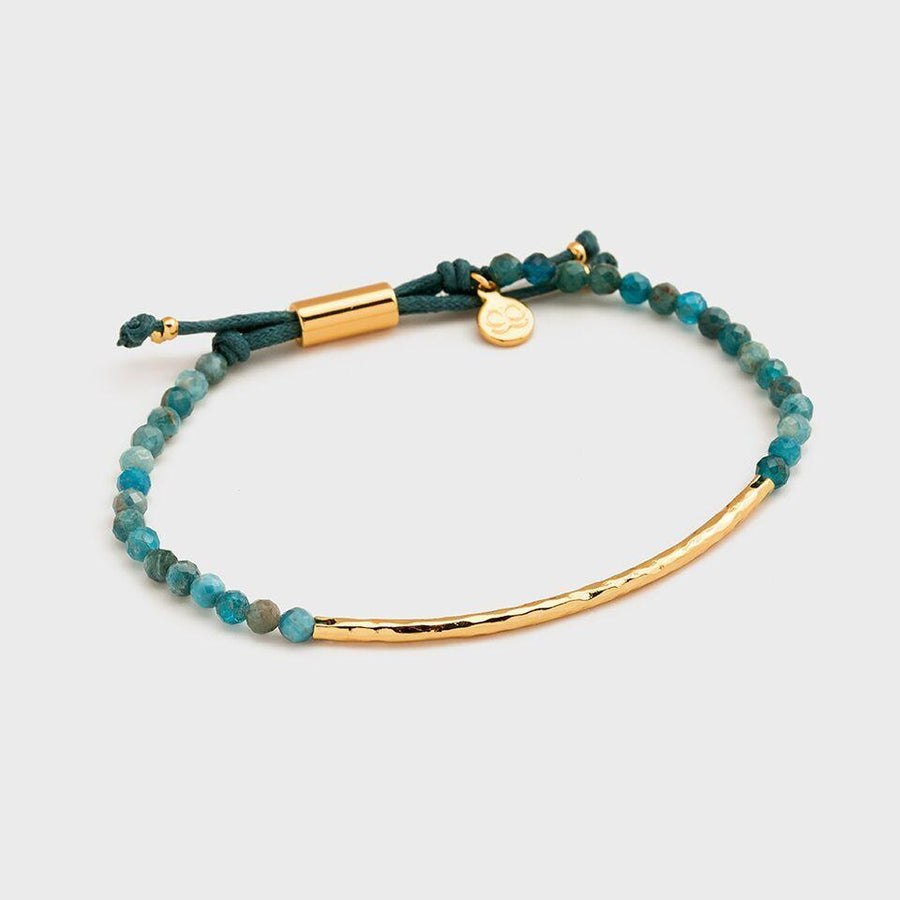 GORJANA JEWELRY // POWER GEMSTONE BRACELET FOR INSPIRATION // GOLD - Las Olas