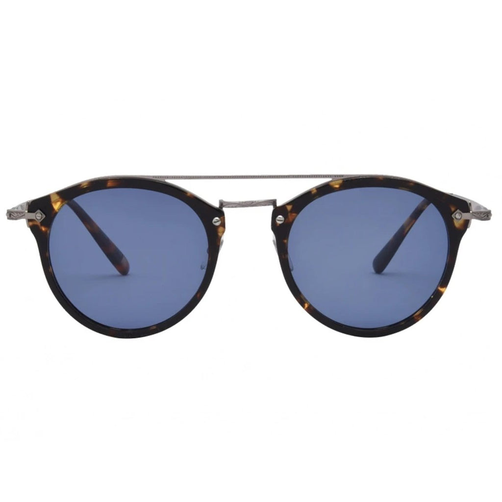 I-SEA // ECHO CANYON SUNGLASSES // TORT + NAVY POLARIZED LENS - Las Olas
