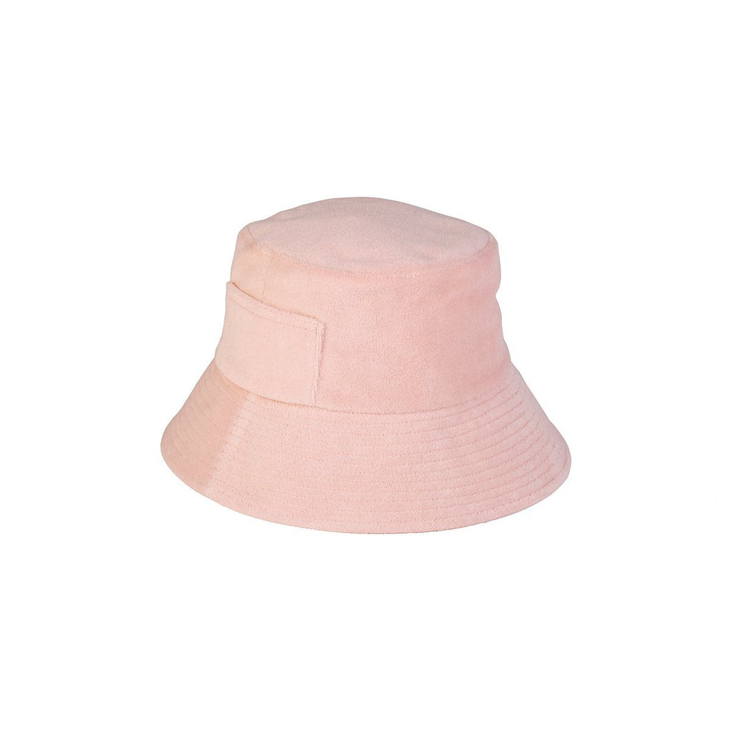 LACK OF COLOR // WAVE BUCKET // PASTEL PINK TERRY - Las Olas