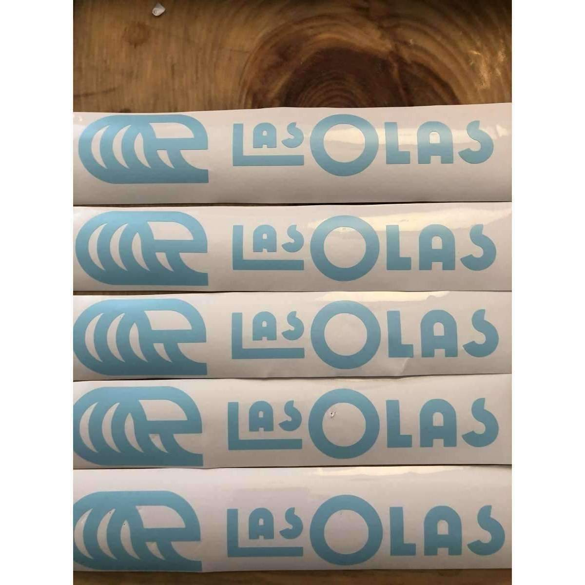 LAS OLAS CAR DECAL // BABY BLUE - Las Olas